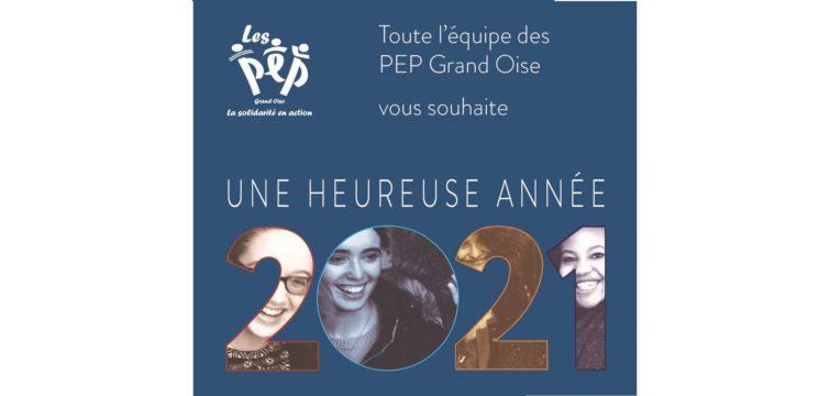 Carte de voeux 2021 PEP Grand Oise