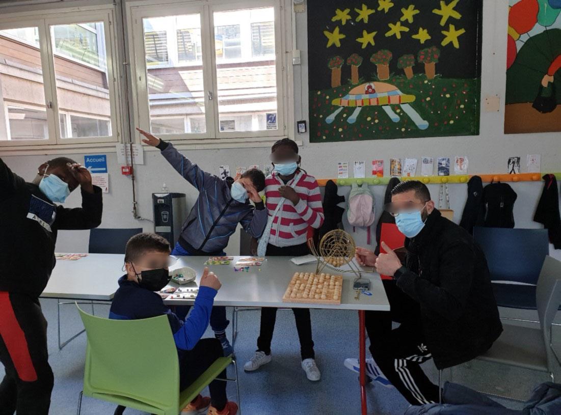 Photo de groupe activité éducative 1